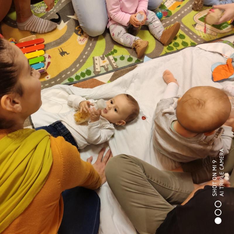 stimolazione sensoriale per neonati
