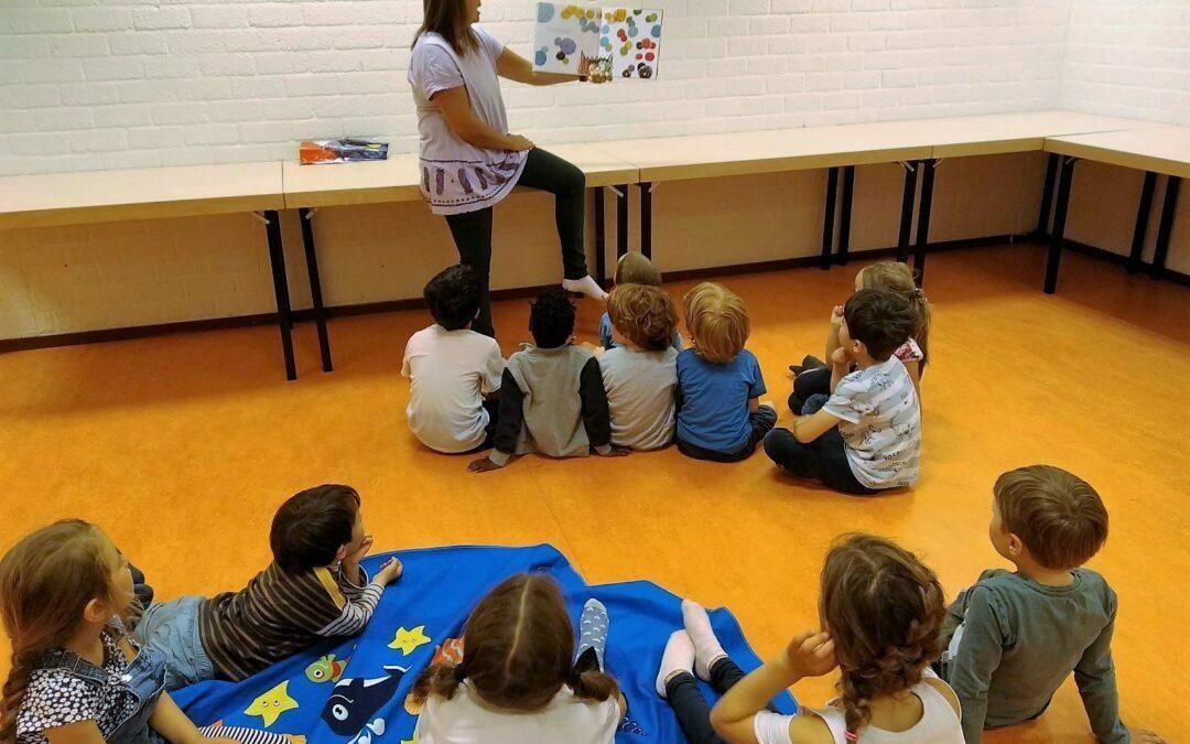 La collezione Stivaletto di libri per bambini in italiano all'Oba di Amsterdam