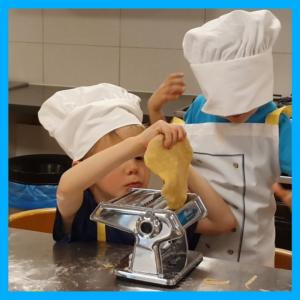 laboratorio di cucina per bimbi da 1 a 3 anni
