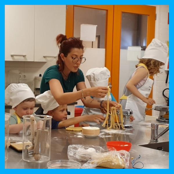 laboratorio di cucina per bimbi