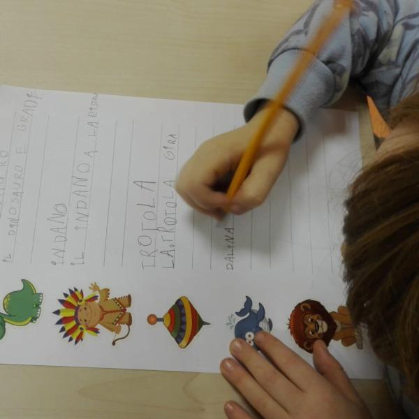 esercizio per imparare a scrivere in italiano