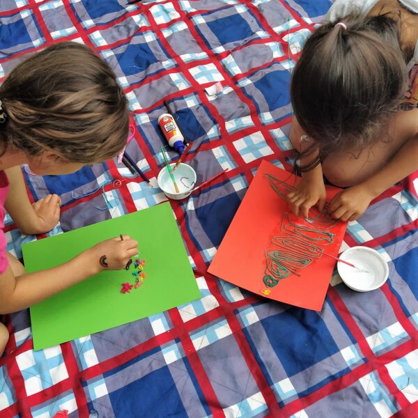 Camp Herfstvakantie disegnare la natura